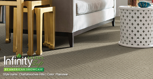 Infinity Ultra Soft carpet by American Showcase. Style Name: Chattahoochee Hills | Color: Plainview.
